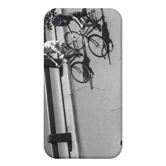 Ciclo del hombre y del muchacho iPhone 4/4S carcasa