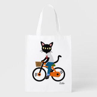 Ciclo del verano bolsa reutilizable