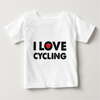 Ciclo diseñado del amor de I Playera De Bebé