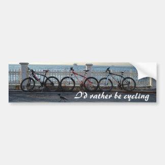 Ciclo Etiqueta De Parachoque