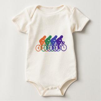 Ciclo (hembra) mameluco de bebé