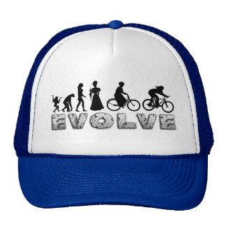 Ciclo para mujer de la evolución gorro