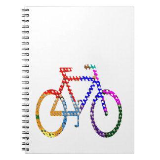 Ciclo pintado punto: Su identidad del grupo Cuaderno
