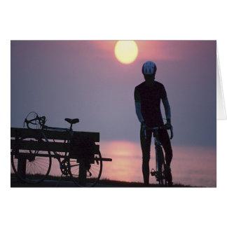 Ciclo Quebec de ciclo que monta en bicicleta Canad Felicitaciones