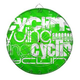 Ciclo; Rayas verdes de neón