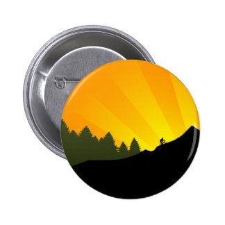 ciclo rayz de la montaña pin