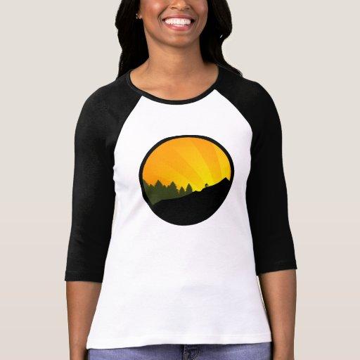 ciclo: rayz de la montaña: t shirts