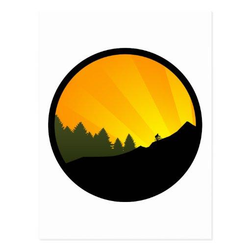 ciclo: rayz de la montaña: tarjetas postales