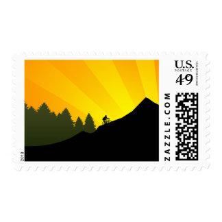ciclo: rayz de la montaña: timbres postales