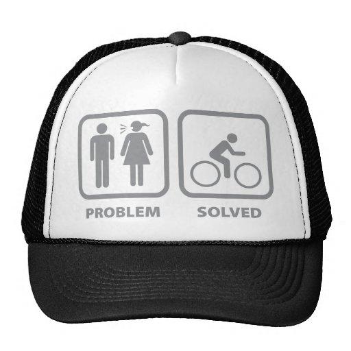 Ciclo solucionado problema gorras de camionero