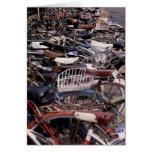 Ciclo Venecia de ciclo que monta en bicicleta Ital Tarjeton