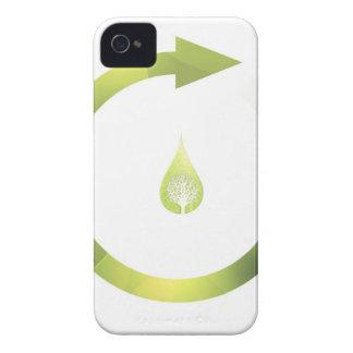 Ciclo verde Case-Mate iPhone 4 cárcasa