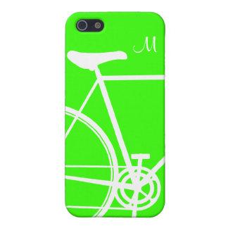 Ciclo verde iPhone 5 funda