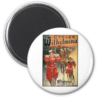 Ciclo y Co. Ltd. Zeist-Holanda de Wilhelmina Imán De Nevera