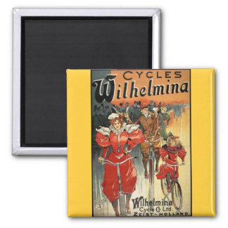 Ciclo y Co. Ltd. Zeist-Holanda de Wilhelmina Imanes
