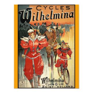 Ciclo y Co. Ltd. Zeist-Holanda de Wilhelmina Comunicado Personal