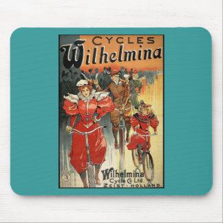 Ciclo y Co. Ltd. Zeist-Holanda de Wilhelmina Alfombrilla De Ratón