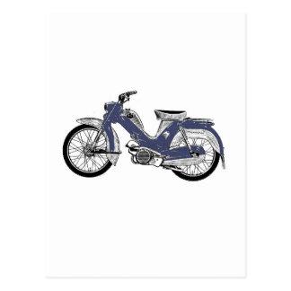 Ciclomotor retro Tunturi Postales