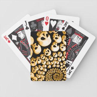 Ciclón de los cráneos barajas de cartas