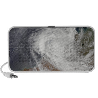 Ciclón tropical Billy sobre Australia iPod Altavoz