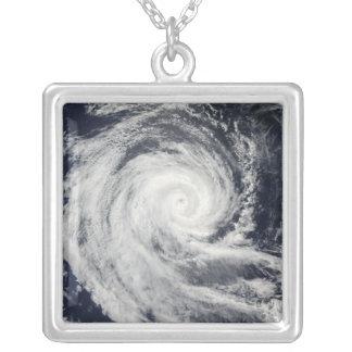 Ciclón tropical Dianne Colgante Cuadrado
