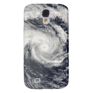 Ciclón tropical Edzani en el indio del sur Oce