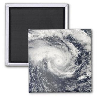 Ciclón tropical Edzani en el indio del sur Oce Imán Cuadrado