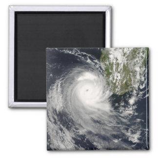 Ciclón tropical Favio de Madagascar Imán Cuadrado