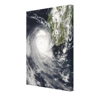 Ciclón tropical Favio de Madagascar Impresion De Lienzo