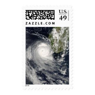 Ciclón tropical Favio de Madagascar Sellos Postales