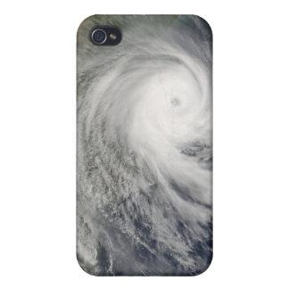 Ciclón tropical Favio sobre Mozambique iPhone 4 Carcasa