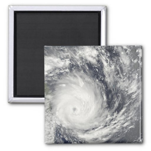 Ciclón tropical Gael de Madagascar Imán Cuadrado