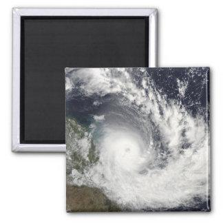 Ciclón tropical Hamish sobre Australia Imán Cuadrado