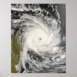 Ciclón tropical Ivan sobre Madagascar Impresiones