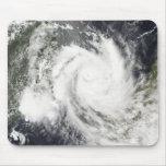 Ciclón tropical Jokwe Mousepad