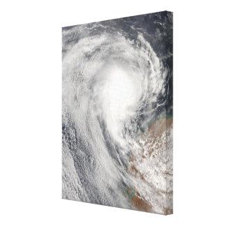 Ciclón tropical Melanie de Australia Impresion De Lienzo