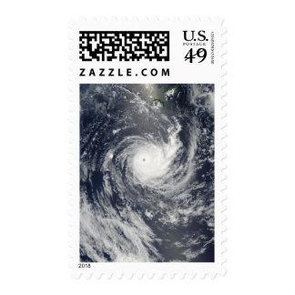 Ciclón tropical Wilma Sellos Postales
