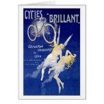 Ciclos Brillant Tarjeta De Felicitación