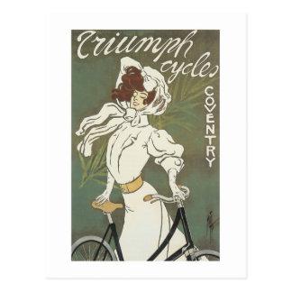 Ciclos Coverntry de Triumph Postales