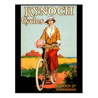 Ciclos de KYNOCH Tarjeta Postal