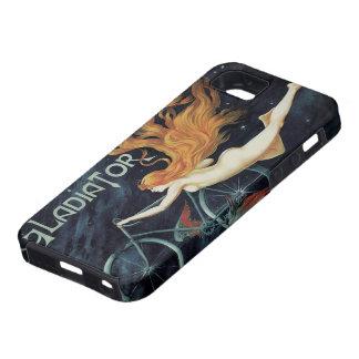 Ciclos del gladiador de la mujer del Redhead de No iPhone 5 Case-Mate Carcasa