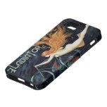 Ciclos del gladiador del vintage, arte Nouveau del iPhone 5 Case-Mate Carcasa