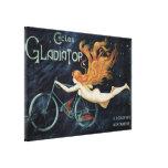 Ciclos del gladiador del vintage, arte Nouveau del Impresion En Lona