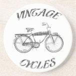 ciclos del vintage posavasos diseño