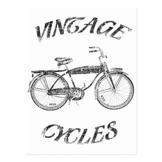 ciclos del vintage postales