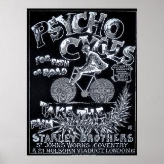 Ciclos psicos para la trayectoria o el camino - an impresiones