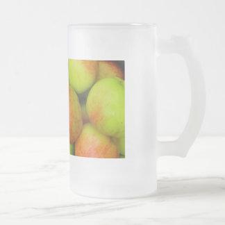Cider Drinker Frosted Glass Beer Mug