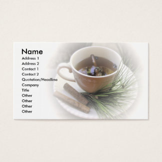 Cider Themed Business Cards