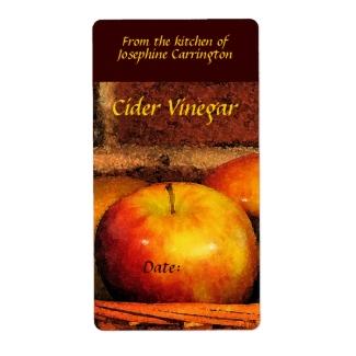 Cider Vinegar Labels