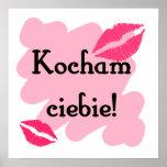 Ciebie de Kocham - polaco te amo Poster